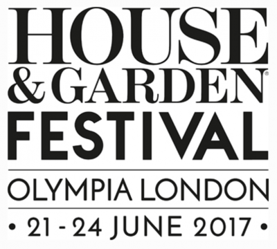 Logo for the House and Garden festival, the event run by House and Garden Magazine