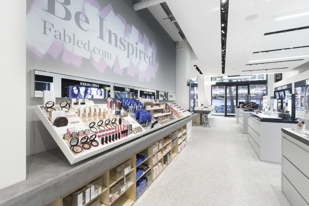 Marie Claire has set up a bricks and mortar store selling the products they have been reviewing in their magazine for generations, it is called Fabled