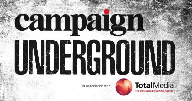 Advert for campaign underground, an event series launch by Campaign