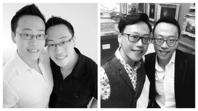 Jake Xu and Shane Carnell-Xu, ten years apart.