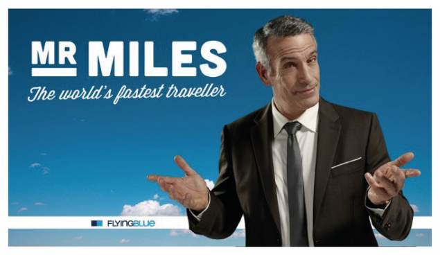 Mr Miles, one of the digital games Air France KLM uses to capture data