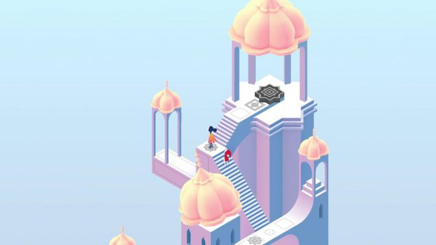 A screen shot from monument valley, one of the games discussed at the bath digital festival