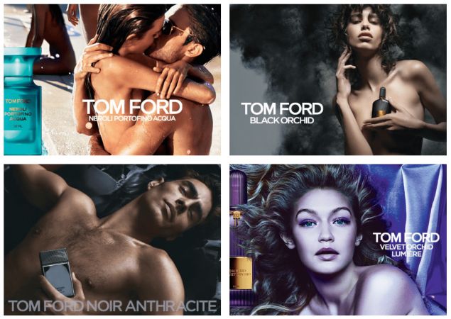 tom ford fragrance advertising