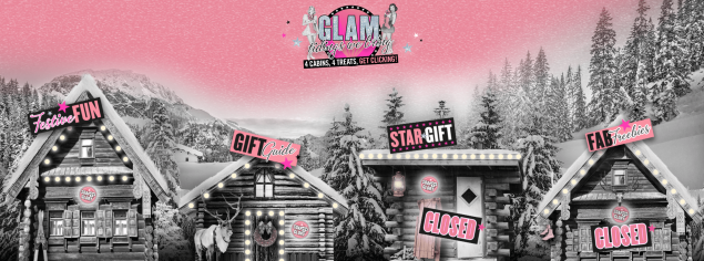 Soap & Glory's Christmas digital campaign microsite