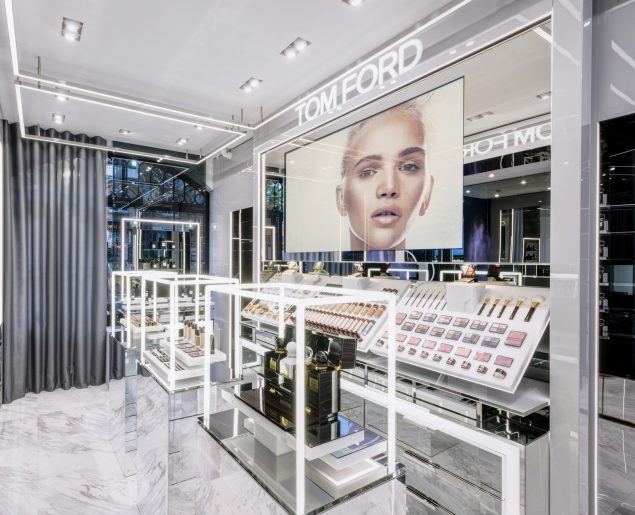 Tom Ford's new store in London