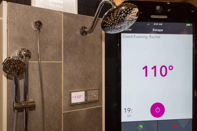 moen smart shower device