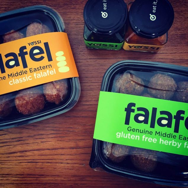 falafel gluten free and original