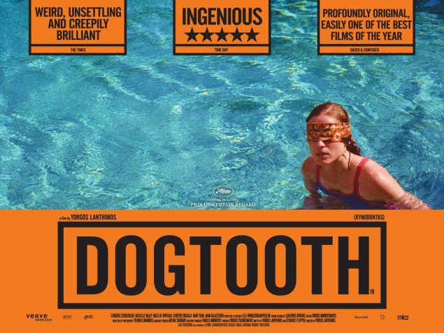 A film poster for the movie Dogtooth