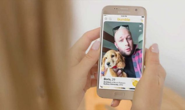 Bumble App Valentine's Doggy date Campaign