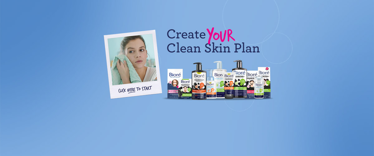 biore clean skin plan marketing campaign by ready