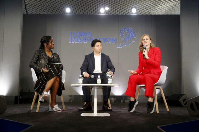 L'Oreal chief digital officer Lubomira Rochet at Cannes Lions 2018