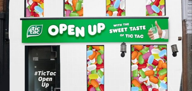 Tic Tac open house experiential