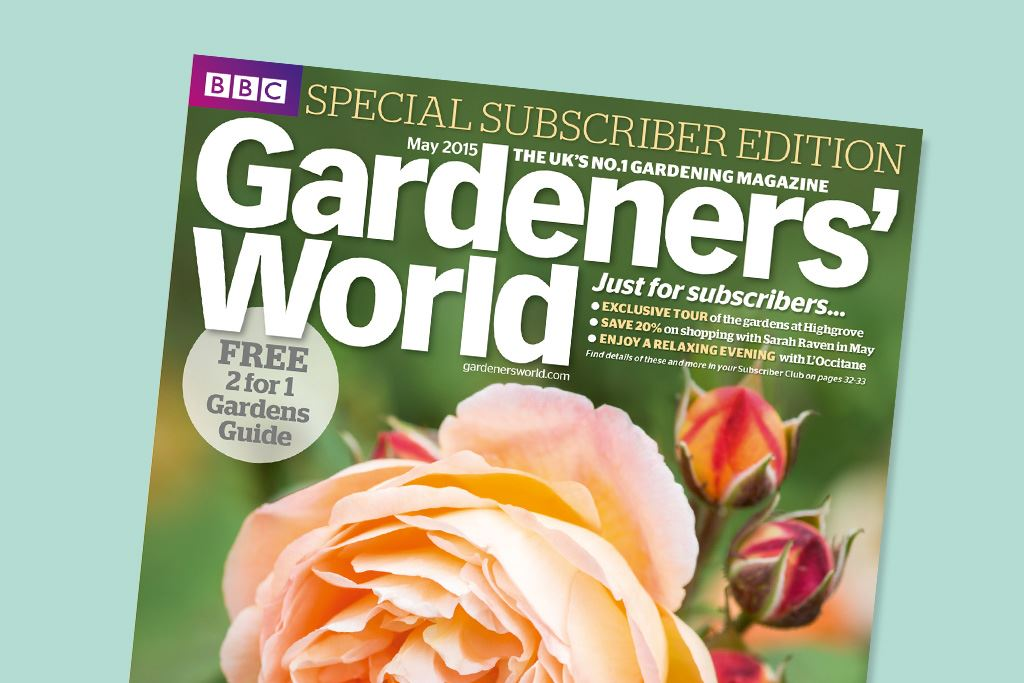 Gardeners World creates a special edition of the magazine just for subscribers.