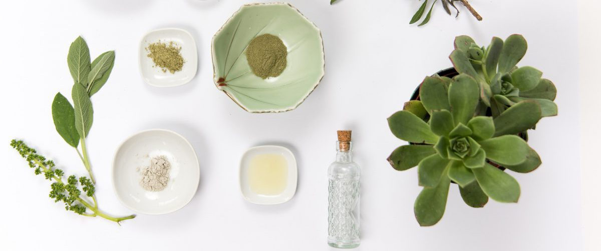 A natural beauty product and its organic ingredients