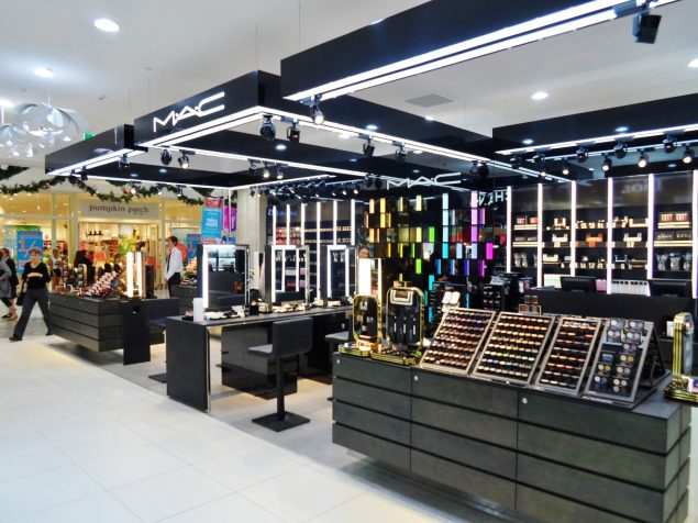 A retail space by MAC, the cosmetics brand