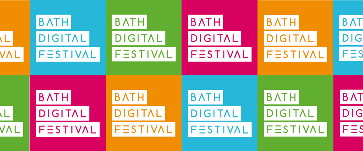 Montage of Bath Digital Festival logos