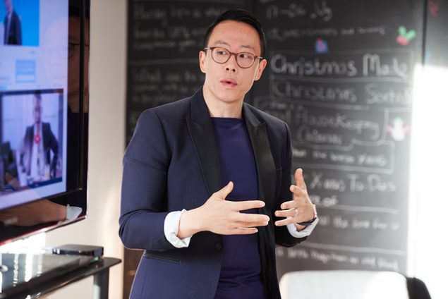 jake xu from Ready talking about digital games at the 2017 bath digital festival