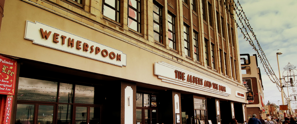The outside of a Wetherspoons public house