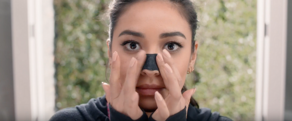 Biore pore strips tactical video campaign