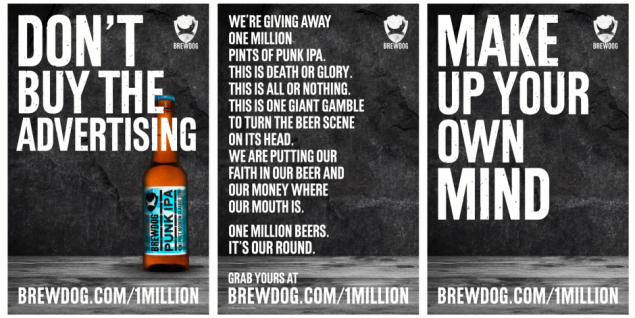 Brewdog campaign featured in Ready's Breakthrough Briefing, March 5th 2018