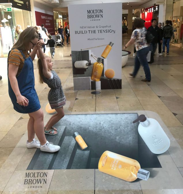 molton brown experiential campaign launch