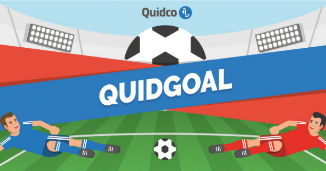 A football themed game for quidco