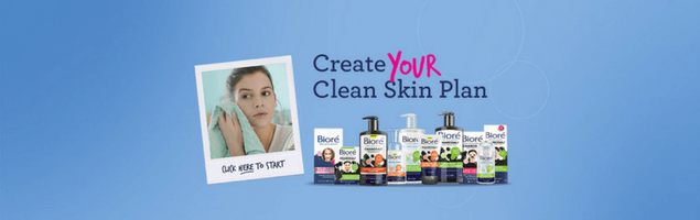 A personalised ecommerce experience for skincare brand Biore