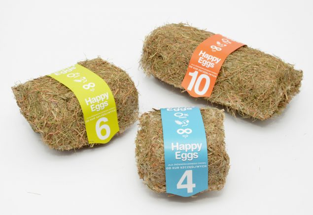 sustainable packaging Happy Eggs