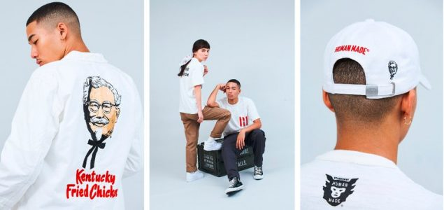 KFC Nigo streetwear collection