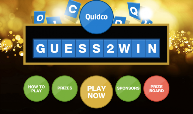 Quidco Black Friday game Guess 2 Win