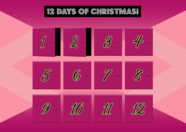 A digital advent calendar for Soap and Glory's Christmas campaign
